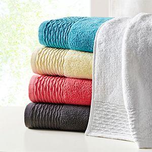 Madison Park Aer Jacquard Cotton 6-piece Bath Towel Set