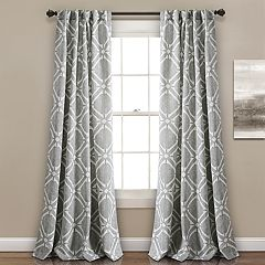 Lush Decor 2-pack Kane Room Darkening Window Curtains