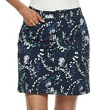 Women's Croft & Barrow® Classic Twill Skort