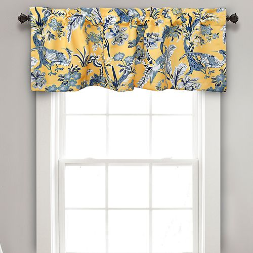 Lush Decor Dolores Room Darkening Valance