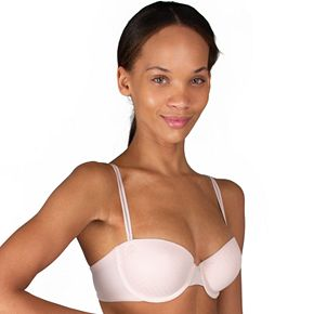 Candie's® Bra: 9-Way Convertible Push-Up Dot Mesh Bra