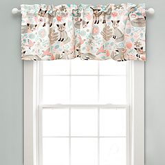 Lush Decor Pixie Fox Room Darkening Valance