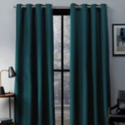 Exclusive Home 2-pack Eglinton Woven Blackout Window Curtains