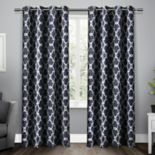 Exclusive Home 2-pack Gates Sateen Woven Blackout Window Curtains