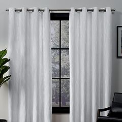 Exclusive Home 2-pack Forest Hill Woven Blackout Window Curtains