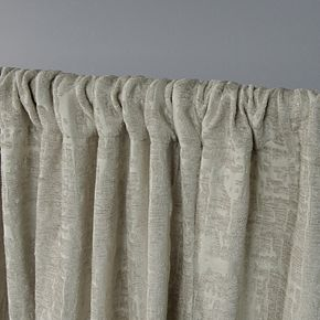 Exclusive Home 2-pack Crosshatch Chenille Window Curtains