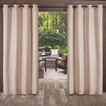 Exclusive Home 2-pack Delano Indoor/Outdoor Window Curtain