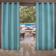 Exclusive Home 2-pack Delano Heavyweight Textured Indoor/Outdoor Window Curtains