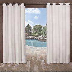 Exclusive Home 2-pack Delano Heavyweight Textured Indoor/Outdoor Window Curtains