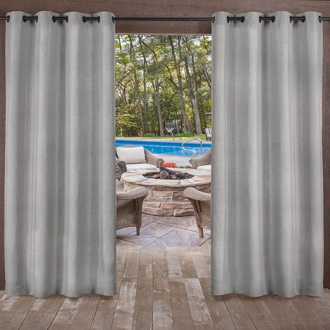 Biscayne Indoor Outdoor Window Curtain