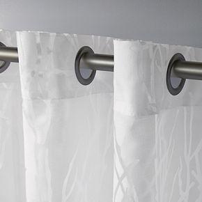 Exclusive Home 2-pack Edinburgh Sheer Branch Burnout Window Curtains