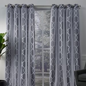 8a453987fd0d Sale.  104.99 -  129.99. Regular.  209.99 -  259.99. Exclusive Home 2-pack  Carmela Layered Geometric Blackout and Sheer Window Curtains