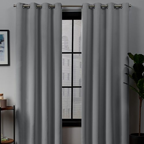 Exclusive Home 2-pack Academy Total Blackout Window Curtains