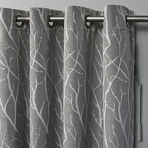 Exclusive Home Forest Hill Patio Woven Blackout Window Curtain