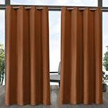 Exclusive Home 2-pack Aztec Indoor/Outdoor Window Curtains