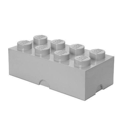 LEGO Storage Brick 8 - Stone Gray