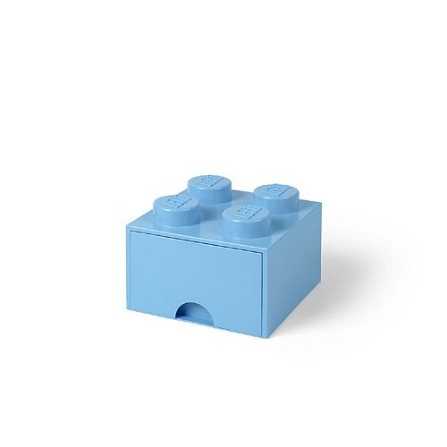 LEGO Storage Drawer 4 - Light Blue