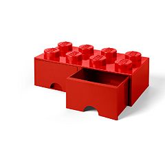 LEGO Storage Drawer 8 - Red