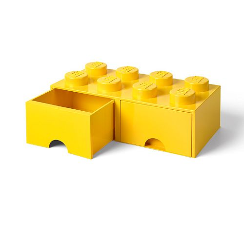 LEGO Storage Drawer 8 - Yellow