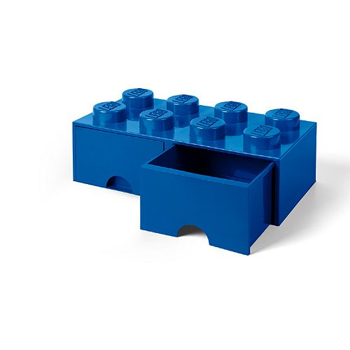 LEGO Storage Drawer 8 - Blue