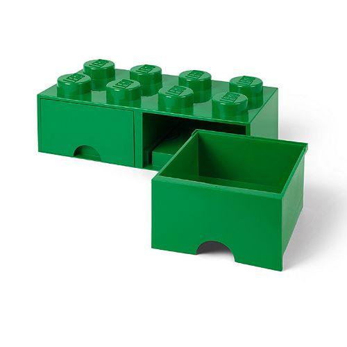 LEGO Storage Drawer 8 - Green