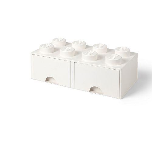 LEGO Storage Drawer 8 - White