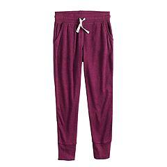 Girls 4-12 Jumping Beans® Marled Knit Jogger Pants
