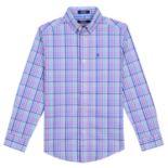 Boys 8-20 IZOD Roadmap Plaid Button-Down Shirt