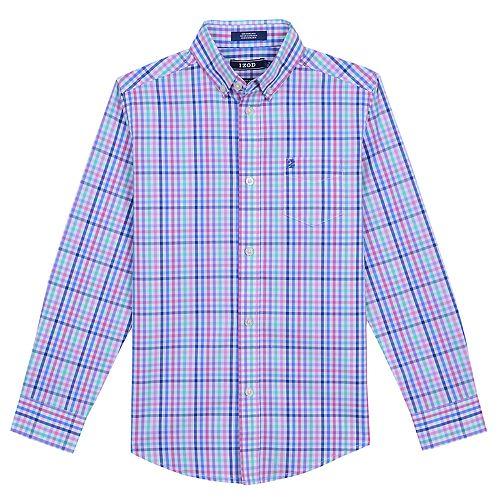 02ab5ce01 Boys 8-20 IZOD Roadmap Plaid Button-Down Shirt