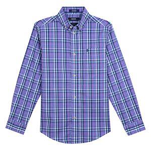 a3012c35c Boys 8-20 IZOD Saltwater Plaid Button-Down Shirt. Sale