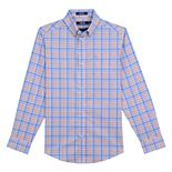 Boys 8-20 IZOD Saltwater Plaid Button-Down Shirt