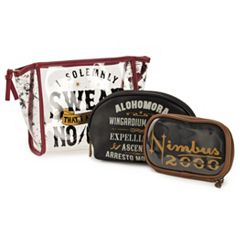 Harry Potter 3-pc. Cosmetic Bag Set