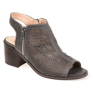 Journee Collection Tibella Women's Peep Toe Boots