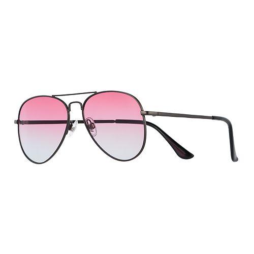 Men's Layered Mirror Aviator Sunglasses