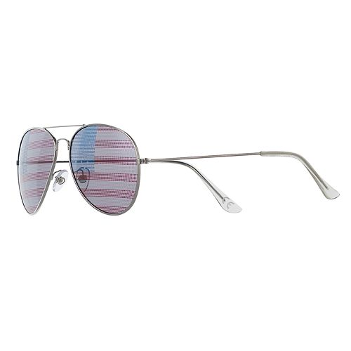 Men's Layered Mirror Aviator Sunglasses