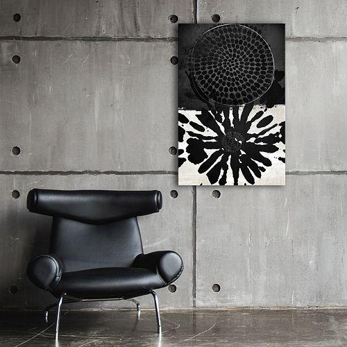 Artissimo Designs Dot Embellished Canvas Wall Art