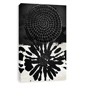 Artissimo Designs Dot Embellished Canvas Wall Art