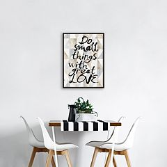 Artissimo Designs 'Do Small Things' Wall Decor