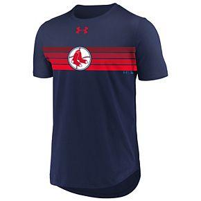 Men's Under Armour Boston Red Sox Retro Stripe Tee