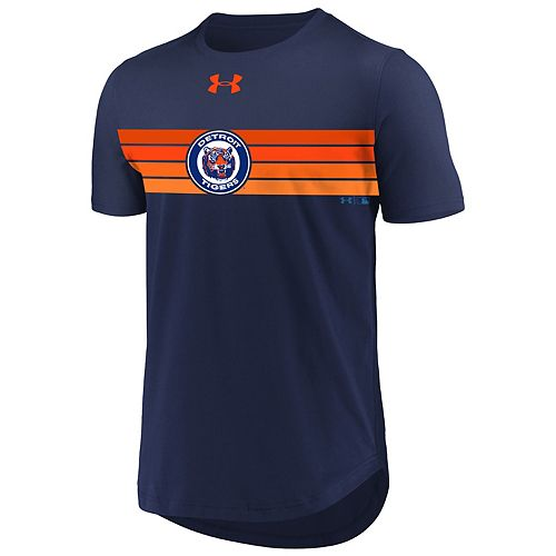Men's Under Armour Detroit Tigers Retro Stripe Tee