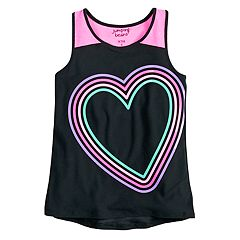 Girls 4-12 Jumping Beans® Racerback Graphic Tank Top