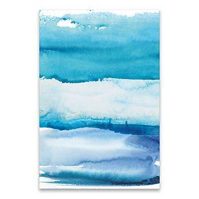 Artissimo Designs Blue Sky Canvas Wall Art