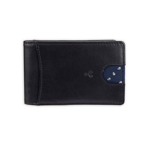 Men's damen + hastings RFID-Blocking Slim Leather Card Case Wallet with Money Clip