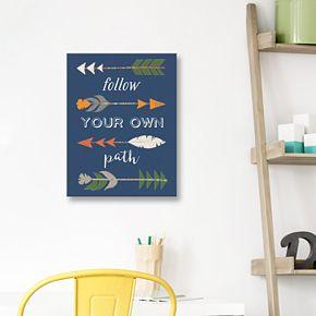 Artissimo Designs Arrows Canvas Wall Art