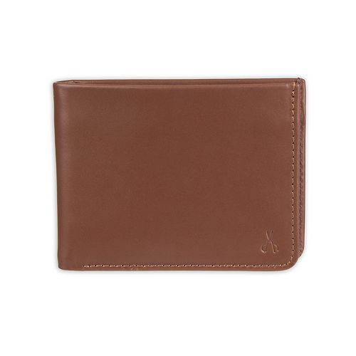 Men's damen + hastings RFID-Blocking Slimfold Leather Wallet