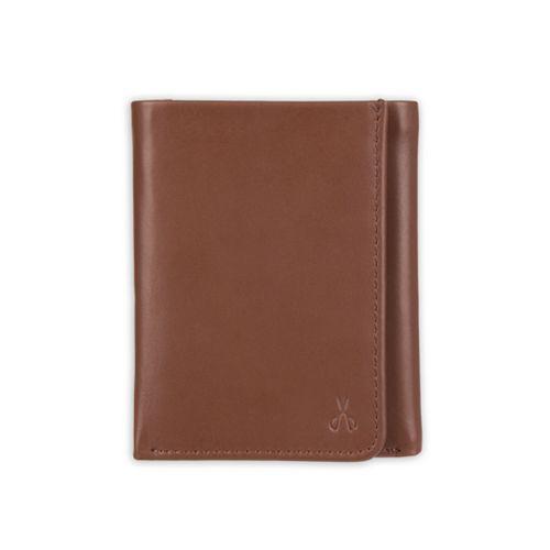 Men's damen + hastings RFID-Blocking Trifold Leather Wallet