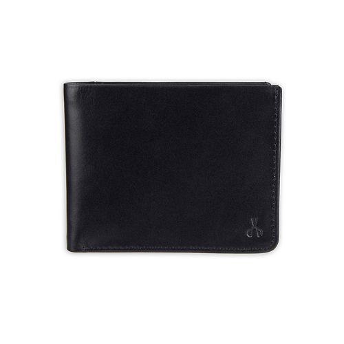 Men's damen + hastings RFID-Blocking Extra-Capacity Slimfold Leather Wallet