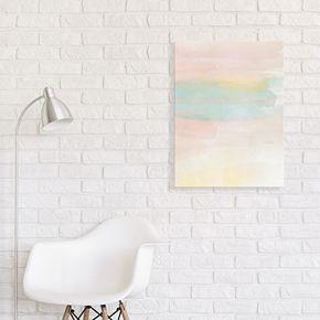 Artissimo Designs Pastel Dream Canvas Wall Art