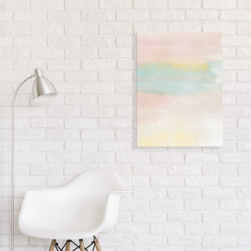 Artissimo Designs Pastel Dream Canvas Wall Art