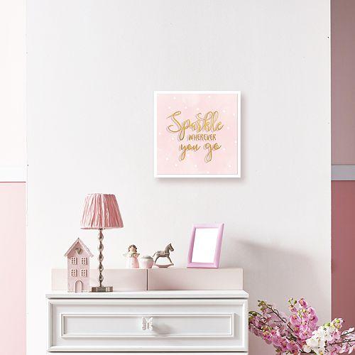 "Artissimo Designs ""Sparkle"" Shadowbox Wall Decor"